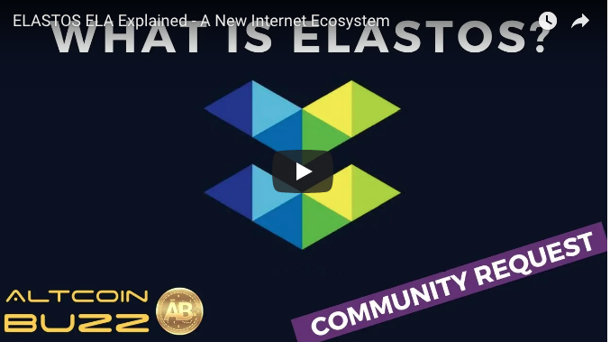 #Elastos to create a new internet, backed by #Antpool